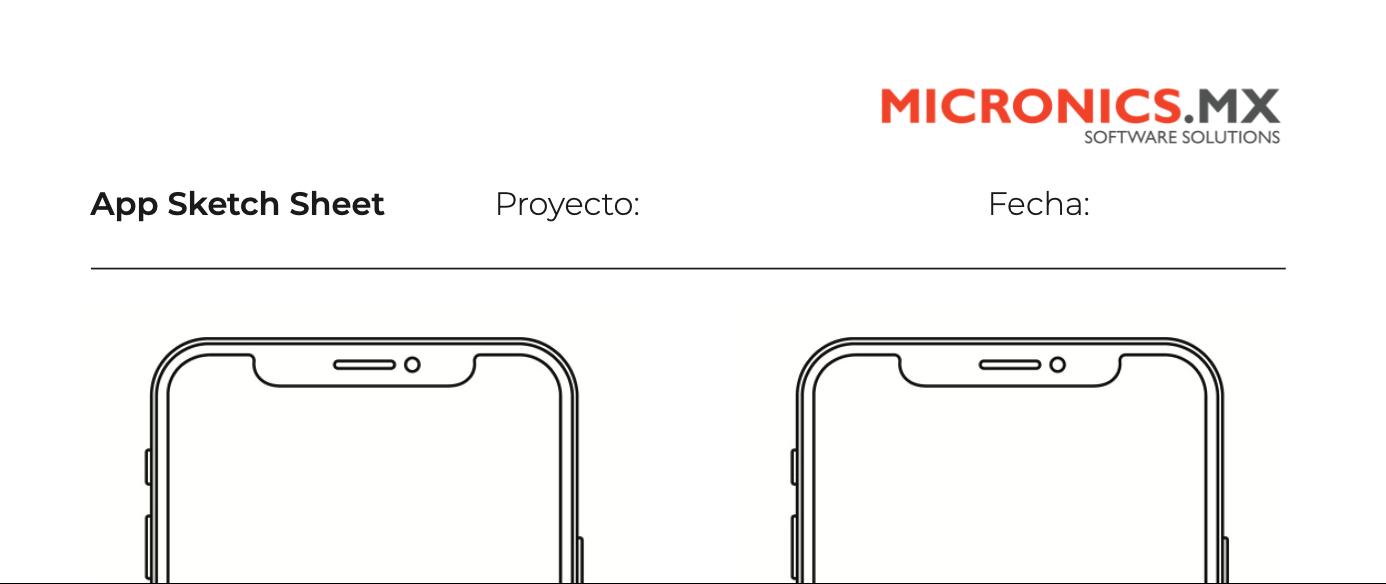 Descarga hoja de dibujo para App o sketch